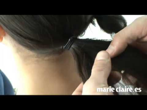 Peinados para invitadas a una boda: recogido trenzado