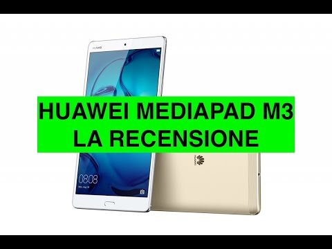 Recensione Huawei Mediapad M3, Tablet con Audio TOP