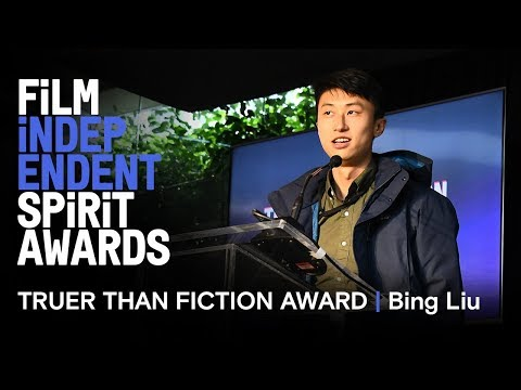 Bing Liu (MINDING THE GAP) wins the Truer Than Fiction Award | 2019 Spirit Awards