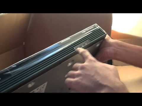 Unboxing cisco 1900 series router