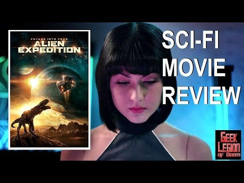 ALIEN EXPEDITION ( 2018 Whitney Nielsen ) Aka JURASSIC EXPEDITION Sci-Fi Movie Review