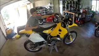 1. Suzuki Rm 125 Dirtbike Top Speed!!!