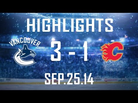 Canucks - The Canucks open a home-and-home with the Flames on a winning note as they get goals from Higgins, Jensen, and hometown boy Shinkaruk on their way to a 3-1 v...