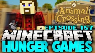 """Minecraft Hunger Games: """"Animal Crossing!"""" - Ep 167"""