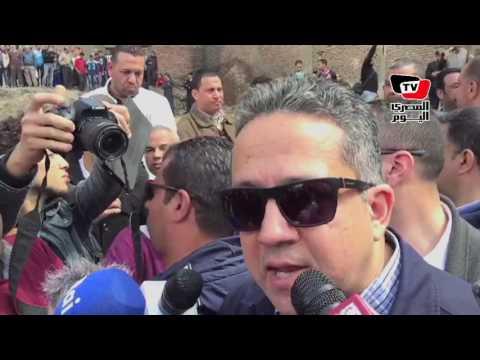 وزير الآثار عن «رمسيس الثاني»: كان في صعوبة قوية جداً أنه يطلع