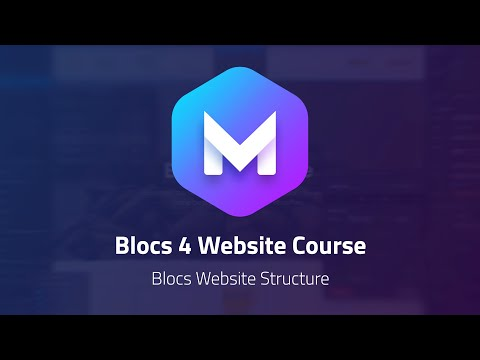 How to Structure a Website in Blocs 4