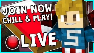 • BEDWARS WITH SUBSCRIBERS!?   MINECRAFT LIVESTREAM   COME HANG OUT!