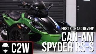 9. 2012 Can-Am Spyder RS-S - First Ride and Review