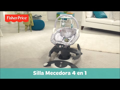 Fisher-Price Silla Mecedora 4 en 1