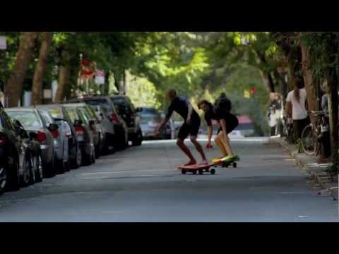 0 Surfer dans les rues de New York, yes !