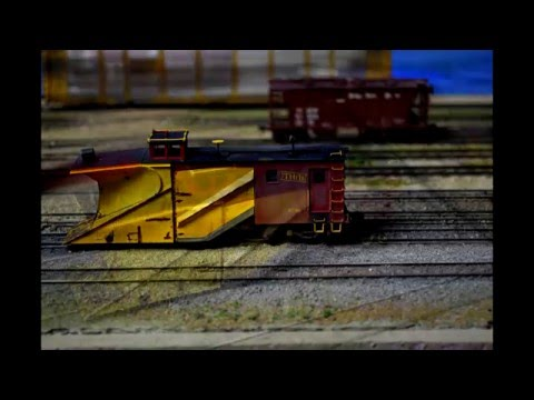 Proto-Review: Walthers Proto TH&B Russell Snow Plow RTR