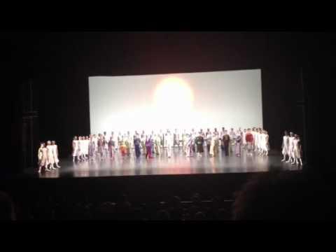 東京バレエ団パリ・オペラ座公演「ザ・カブキ」カーテンコール1