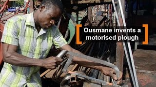 Ousmane BÉRÉ, 29 years, left school at 3rd standard. He joined the welding workshop of his dad, where he conceived a...