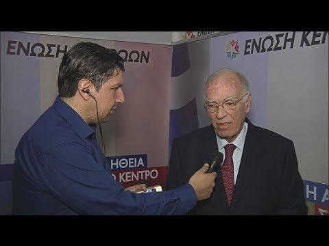 Βασίλης Λεβέντης: «Θεωρώ ότι τα exit-polls θα πέσουν έξω»