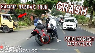 Video GW CRASH HAMPIR NABRAK TRUK - SUNMORI PART II MP3, 3GP, MP4, WEBM, AVI, FLV Maret 2019