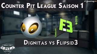 Flipsid3 vs Dignitas - Counter Pit League 2015 - Group Stage - Groupe A