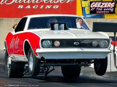 Glory Daze 1967 Camaro Injected Funny Car