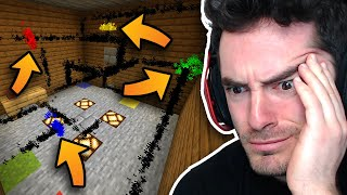 Minecraft Map But I Don't Know What's Happening