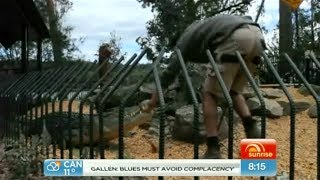 Shoalhaven Australia  city images : Crocodile attacks Shoalhaven Zoo Keeper