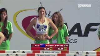 Full | Michelle Jenneke Dancing Warmup Before Race