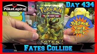 Pokemon Pack Daily Fates Collide Booster Opening Day 434 - Featuring ThePokeCapital by ThePokeCapital