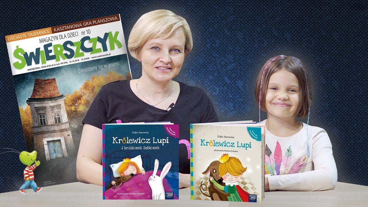 Książki rekomendowane przez magazyn dla dzieci – ŚWIERSZCZYK