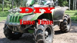 7. DIY ATV Tune up and Oil Change