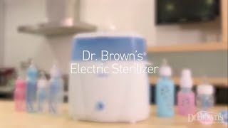 Dr.Brown's Electric Sterilizer -Sterilize baby bottles quickly and easily!