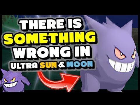 THERE IS SOMETHING WRONG IN POKEMON ULTRA SUN AND MOON - Washed Out Pokemon Colors