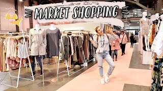 SHOPPING AT MARKET FOR LUCA + GRAE! by Aspyn + Parker