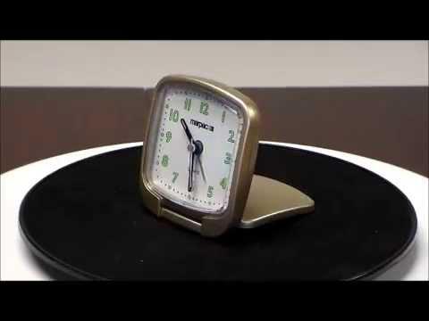 Marpac MTC-60 Quartz Travel Alarm Clock