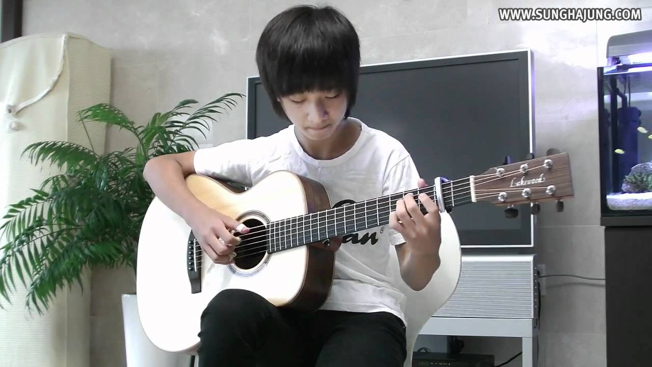 (Yiruma) River Flow in You – Sungha Jung