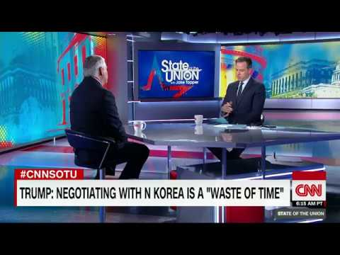 Tapper to Tillerson: Did you call Trump a moron?