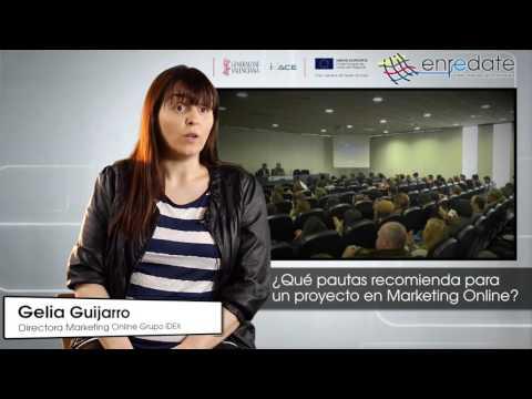 Gelia Guijarro en #EnredateElx 2015
