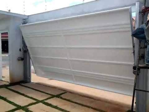 Portão Eletrônico Basculante Rossi 1/3 hp