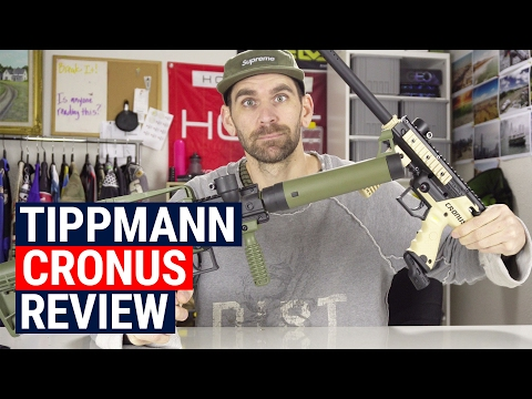 Tippmann Cronus Basic And Tactical Review