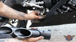10. How to install Toce Double Down Exhaust on a 2008 Yamaha YZF R6
