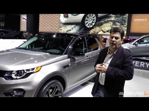 LA Auto Show: 2016 Land Rover Discovery Sport