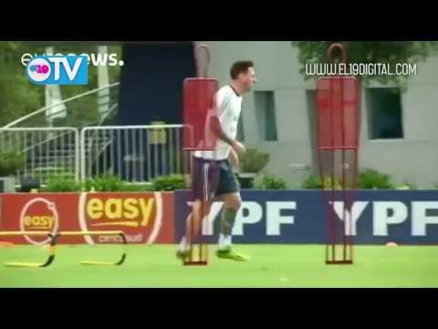 Messi anuncia su retirada de la selección argentina