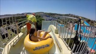 Salou Spain  city photos gallery : Aquapolis Waterpark. Salou. Spain. GoPro