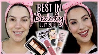 BEST IN BEAUTY July 2019... Full Face of Everyday Faves! by Beauty Broadcast