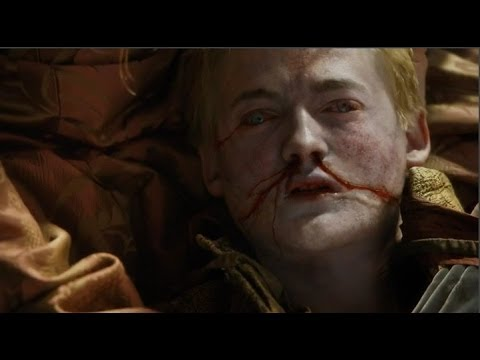 dies - Joffrey Baratheon Death Game Of Thrones Joffrey dies game of thrones Joffrey dead joffrey death scene Game Of THRONES Purple Wedding from Game of Thrones The...