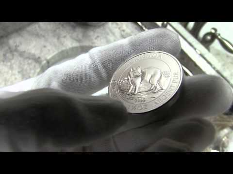 2014 1.5 oz Canadian Silver Arctic Fox Coin Review