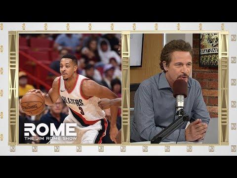 Video: C.J. McCollum Drops 40 Points | The Jim Rome Show
