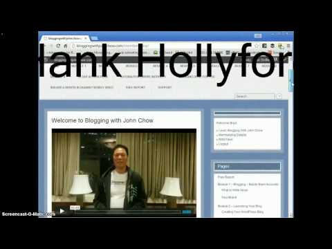 Make money online – Blogging With John Chow Course Review