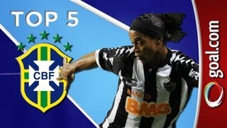 There were some great goals in round 28 of the Campeonato Brasileiro. And we start the countdown of the top five at the Paulista derby between Sao Paulo and ...
