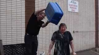 Our receptionist, repairs manager and all around great gal, Carla Kully takes the Ice Bucket Challenge at McBain Camera's 107th ...