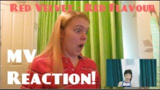 Red Velvet/레드벨벳 - Red Flavor 빨간 맛 MV Reaction - Hannah May