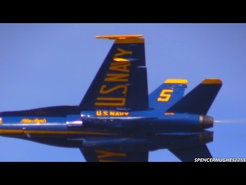 2014 Blue Angels - Winter training (2/15/14) Part 2