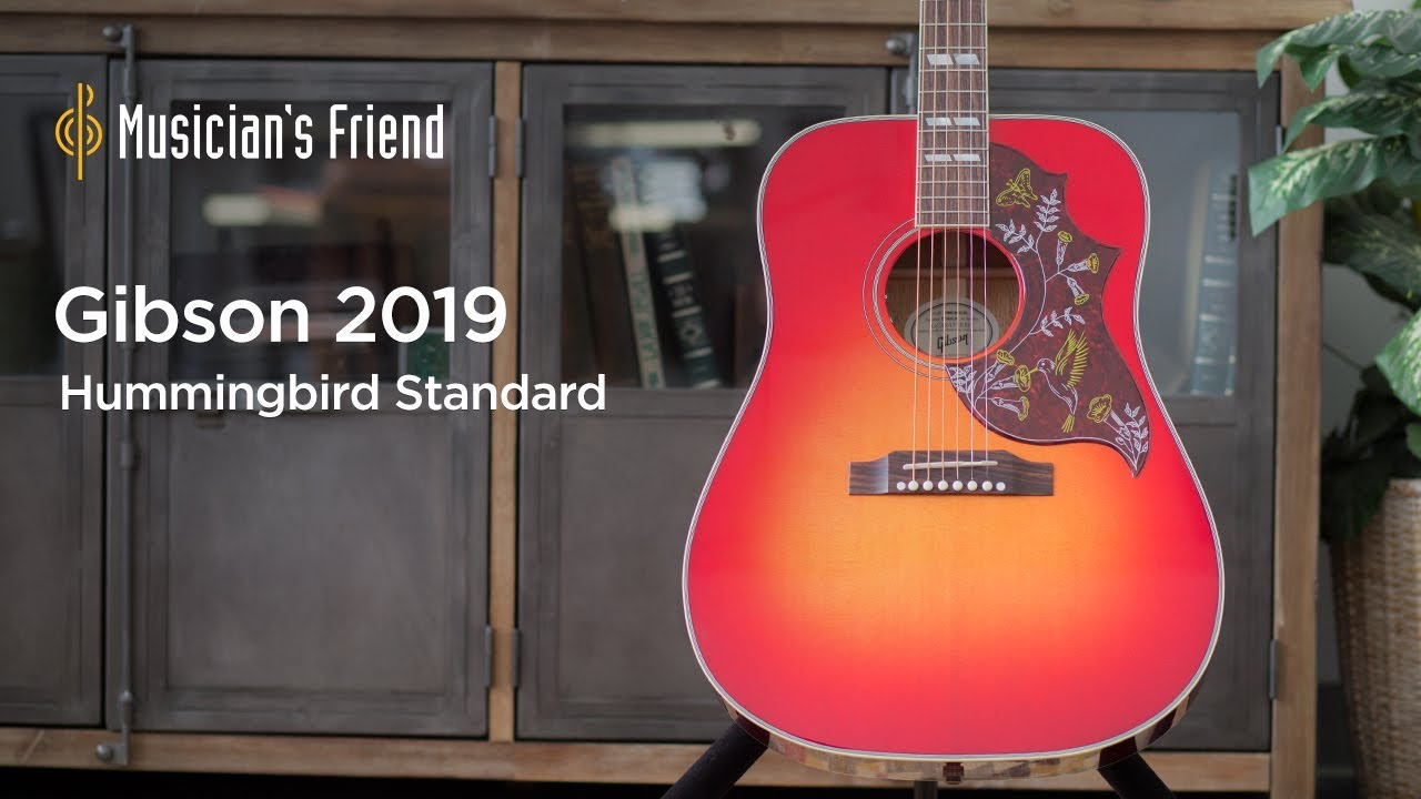 Gibson 2019 Hummingbird Standard Acoustic-Electric Guitar Demo